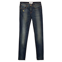 Buy Mango Push Up Uptown Jeans, Open Blue Online at johnlewis.com