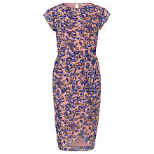 Buy Sugarhill Boutique Cara Watercolour Floral Dress, Pink/Multi Online at johnlewis.com