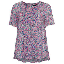 Buy French Connection Water Garden Top, Pink Multi Online at johnlewis.com