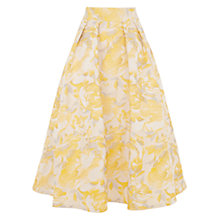 Buy Coast Rue Skirt, Yellow Online at johnlewis.com