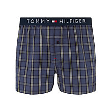 Buy Tommy Hilfiger Woven Check Boxers Online at johnlewis.com