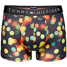 Buy Tommy Hilfiger Photo Trunks, Black/Red Online at johnlewis.com