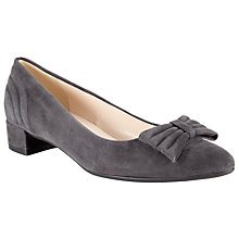 Buy Peter Kaiser Jasmin Suede Block Heel Pumps Online at johnlewis.com