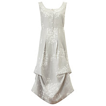 Buy Phase Eight Laurel Hook Dress, Grey/White Online at johnlewis.com