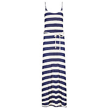 Buy Phase Eight Susanna Striped Maxi Dress, Navy Online at johnlewis.com