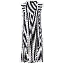 Buy Phase Eight Sally Striped Kaftan Dress, Navy Online at johnlewis.com
