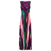 Buy Phase Eight Clemence Maxi Dress, Purple Multi Online at johnlewis.com