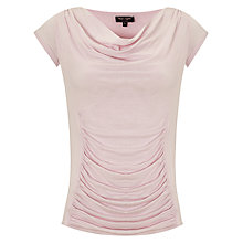 Buy Phase Eight Stella Cap Sleeved Top, Dusty Pink Online at johnlewis.com