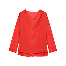 Buy Gerard Darel Actrice Blouse, Coquelicot Online at johnlewis.com