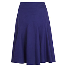 Buy Hobbs Carly Skirt, Indigo Online at johnlewis.com
