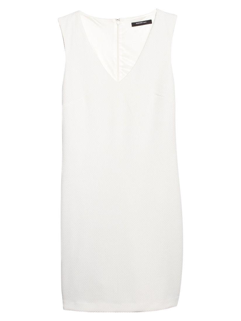 mango textured v-neck dress, mango, textured, v-neck, dress, natural white|natural white|natural white|natural white|natural white|navy|navy|navy|navy|navy, 10|8|6|14|12|6|14|10|12|8, women, womens dresses, 1933404