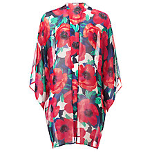 Buy Phase Eight Riviera Print Longline Kimono, Multi Colour Print Online at johnlewis.com