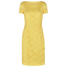 Buy Precis Petite Lace Dress, Bright Yellow Online at johnlewis.com