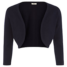 Buy Precis Petite Pointelle Shrug, French Navy Online at johnlewis.com