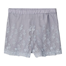 Buy Mango Kids Girls' Embroidered Tulle Shorts Online at johnlewis.com