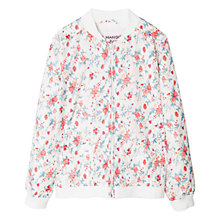 Buy Mango Kids Girls' Water Repellent Floral Jacket Online at johnlewis.com