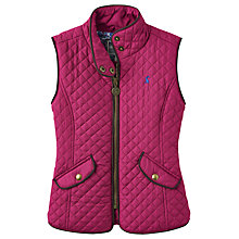 Buy Little Joule Girls' Quilted Gilet Online at johnlewis.com