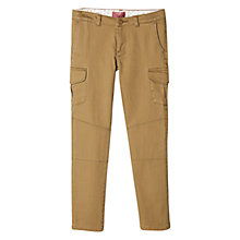 Buy Mango Kids Girls' Cotton Blend Cargo Trousers Online at johnlewis.com