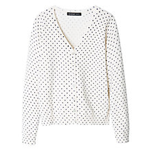 Buy Mango Kids Girls' Polka Dot Cardigan Online at johnlewis.com