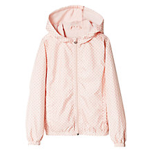 Buy Mango Kids Girls' Waterproof Spot Print Jacket Online at johnlewis.com