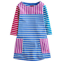 Buy Little Joule Girls' Hotch Potch Stripy Jersey Dress, Multi Online at johnlewis.com