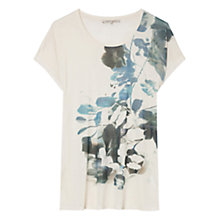 Buy Gerard Darel Silk Anatole Top, White Online at johnlewis.com