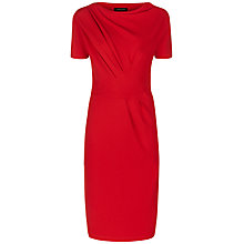 Buy Jaeger Jersey Drape Dress Online at johnlewis.com