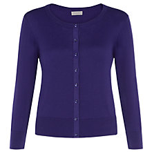 Buy Hobbs Heidi Cardigan, Indigo Online at johnlewis.com