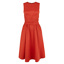 Buy Hobbs Twitchill Dress, Tomato Online at johnlewis.com