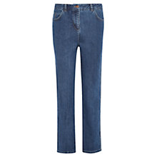 Buy Viyella Mid Wash Straight Jeans, Denim Online at johnlewis.com