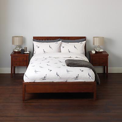 John Lewis Pheasant Scene Duvet Cover and Pillowcase Set