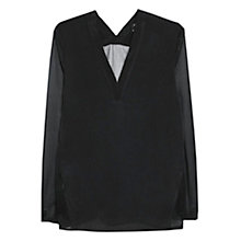 Buy Mango Plumeti Blouse Online at johnlewis.com