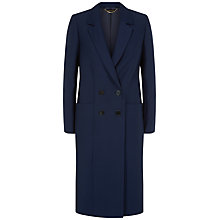 Buy Jaeger Ottoman Tailored Coat, Peacoat Online at johnlewis.com
