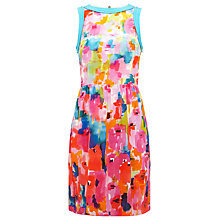 Buy Damsel in a dress Bright Fields Silk Dress, Multi Online at johnlewis.com