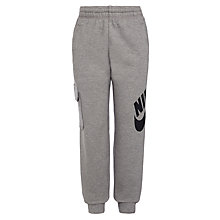 Buy Nike SB Boys' Everett Joggers, Grey Online at johnlewis.com