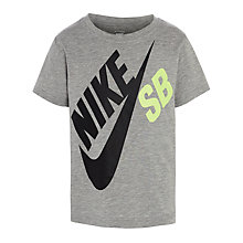 Buy Nike SB Boys' Large Logo T-Shirt Online at johnlewis.com