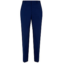 Buy Jaeger End on End Modern Trousers, Lake Blue Online at johnlewis.com