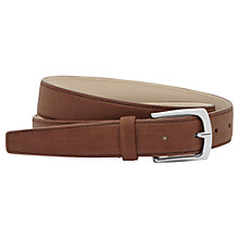 Buy Reiss Kurzwell Slim Leather Belt Online at johnlewis.com