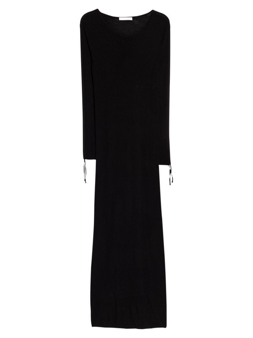 mango premium ribbed long dress black, mango, premium, ribbed, long, dress, black, 12|8|10|6, women, womens dresses, new in clothing, 1941369