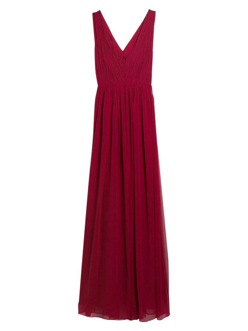 mango cut-out ruched maxi dress dark red, mango, cut-out, ruched, maxi, dress, dark, red, 6 8 10 12 14, women, womens dresses, 1939344