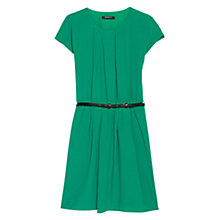 Buy Mango Faux Leather Belt Dress Online at johnlewis.com