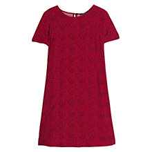 Buy Mango Printed Flowy Dress, Red Online at johnlewis.com