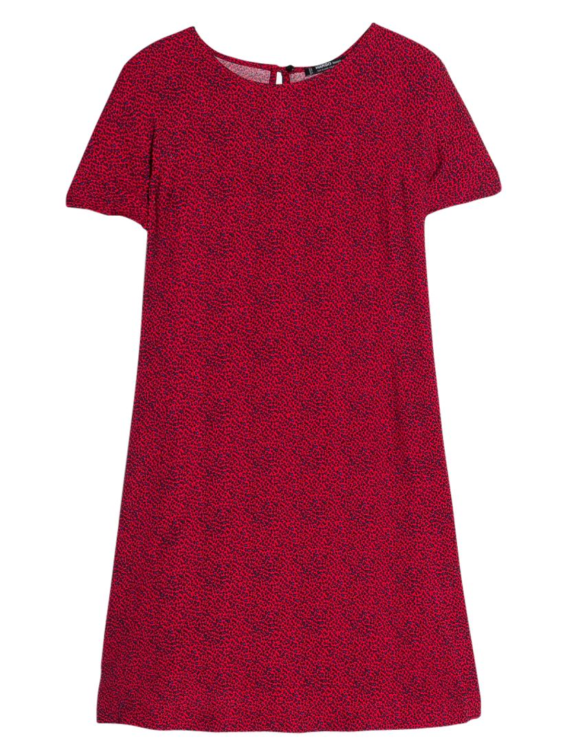 mango printed flowy dress red, mango, printed, flowy, dress, red, 6|12|14|8|10, women, womens dresses, new in clothing, 1939934