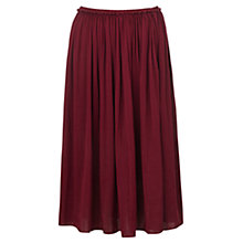 Buy Jigsaw Midi Gathered Skirt Online at johnlewis.com