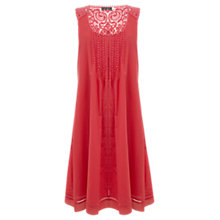 Buy Mint Velvet Smock Dress, Papaya Online at johnlewis.com