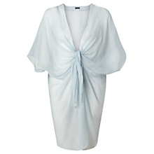Buy Jigsaw Knot Front Kaftan, Blue Online at johnlewis.com