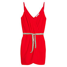 Buy Mango Belt Wrap Dress Online at johnlewis.com