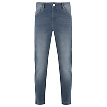 Buy Mint Velvet Baltimore Pebble Wash Boyfriend Jeans, Blue Online at johnlewis.com