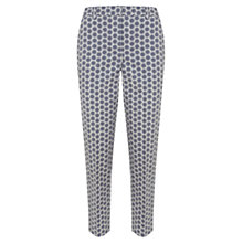Buy Mint Velvet Quinn Print Stretch Capri Trousers, Multi Online at johnlewis.com