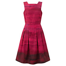 Buy Jigsaw Dip Dye Cotton Sundress, Pink Online at johnlewis.com